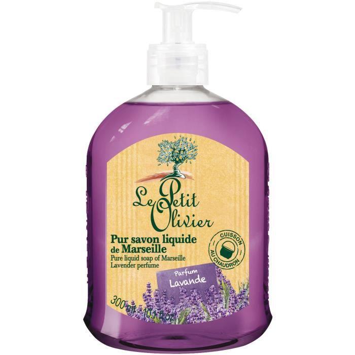 LE PETIT OLIVIER Pur savon liquide de Marseille Parfum lavande - 300 ml