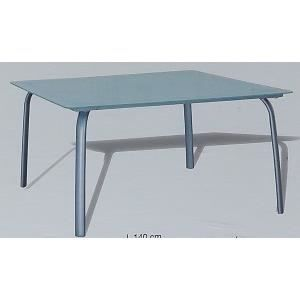 Table alu verre grand modele achat vente table de jardin table alu verre - Table jardin alu verre ...