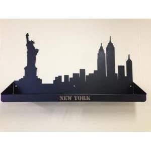 Etagere new york achat vente objet d coration murale for Deco murale new york