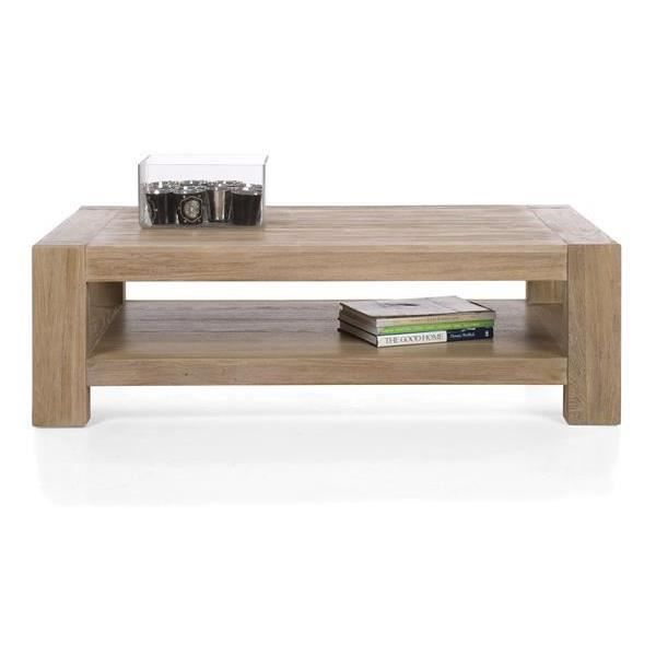 Table Basse130 X 80 Cm Orme Massif Tulsa H H Achat