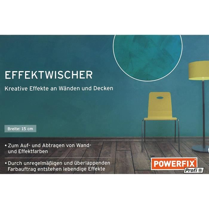 Powerfix Effektwischer Largeur Env 15 Cm