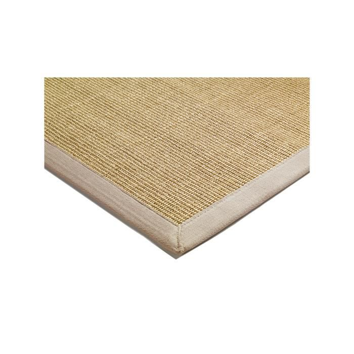 benuta tapis sisal beige 140x200 cm achat vente tapis cdiscount. Black Bedroom Furniture Sets. Home Design Ideas