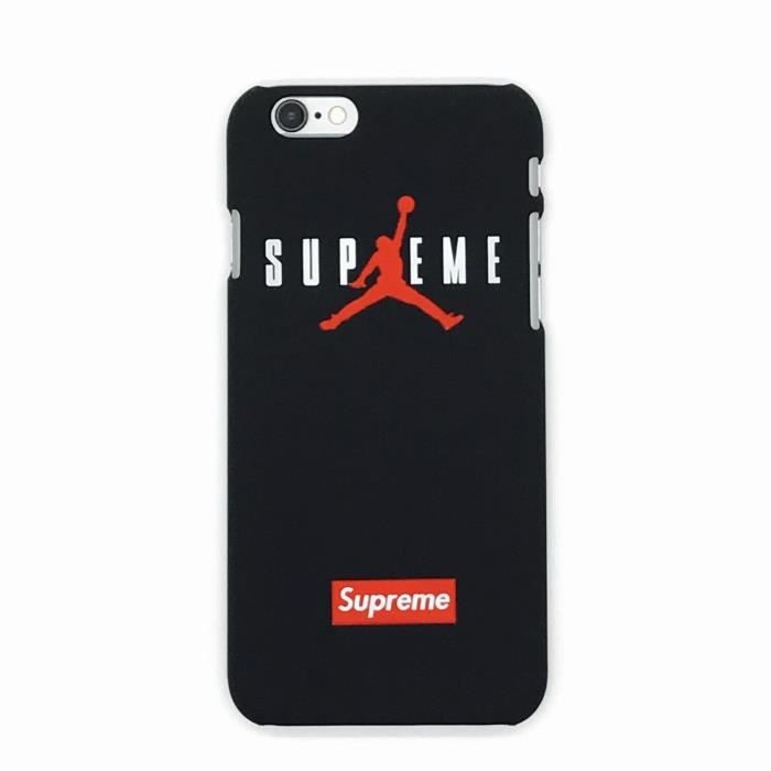 coque iphone 7 noir supreme air jordan coque bumpe