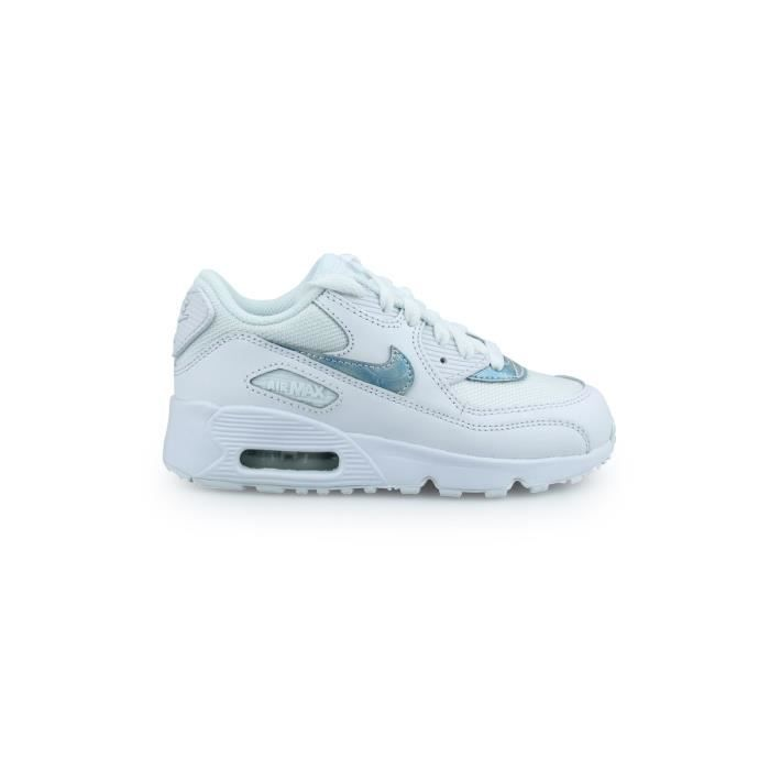 newest united states new york Basket Nike Air Max 90 Mesh Enfant Blanc 833420-111 Blanc - Achat ...