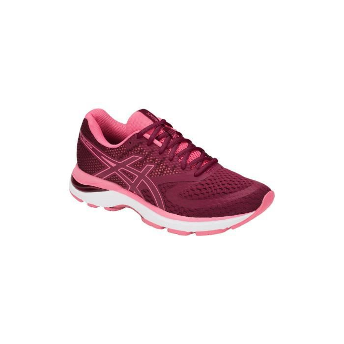 Ah Femme Pulse Running Blanc 10 Gel Prune Rose Asics Chaussures FzIEww