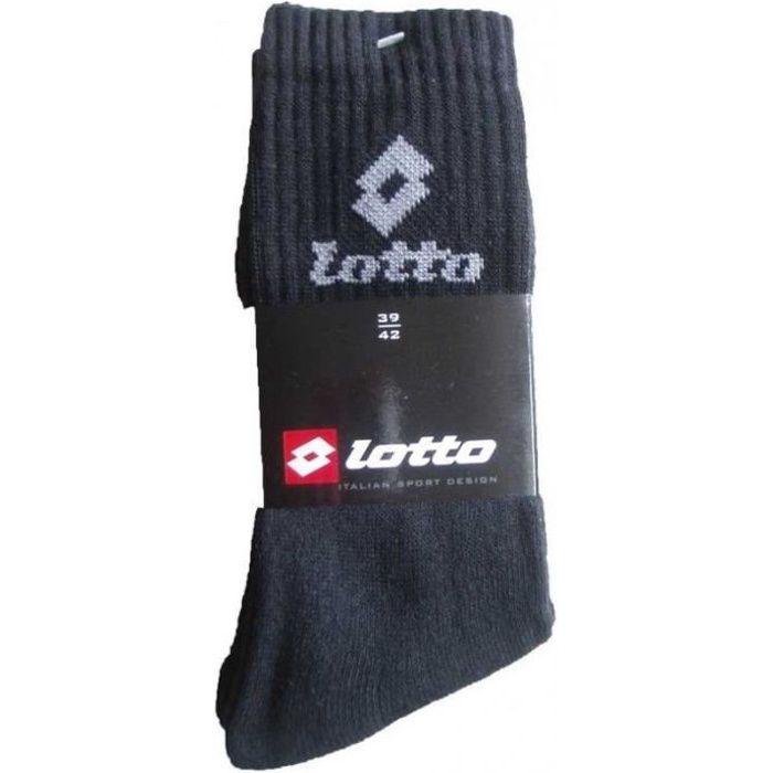 Lotto Lot 6 paires de chaussettes sport