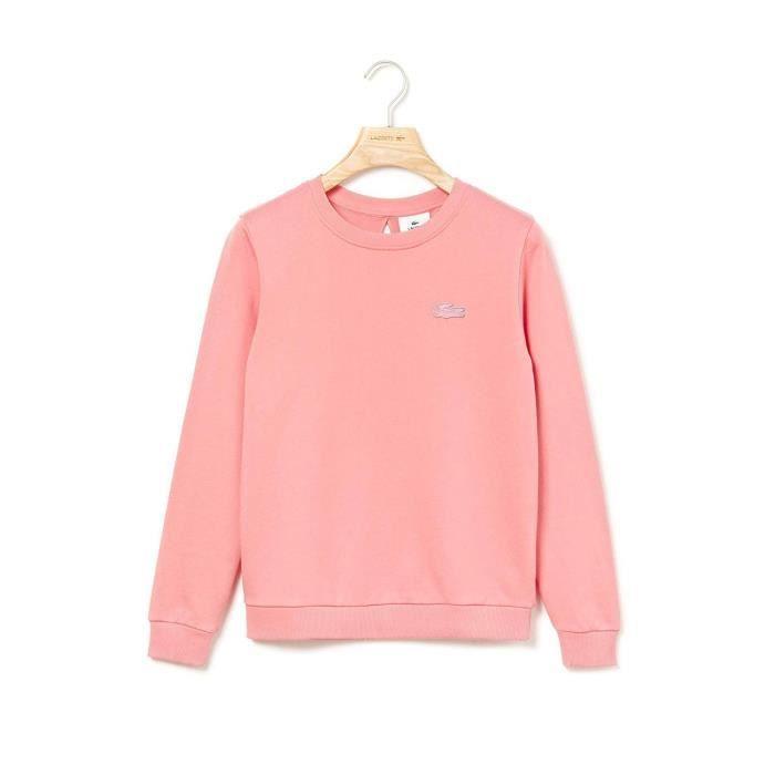 sweatshirt femme lacoste
