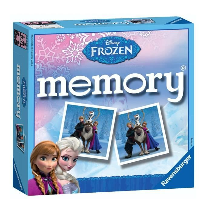 Frozen 2 Disney Mini carte mémoire photo jeu Ravensburger