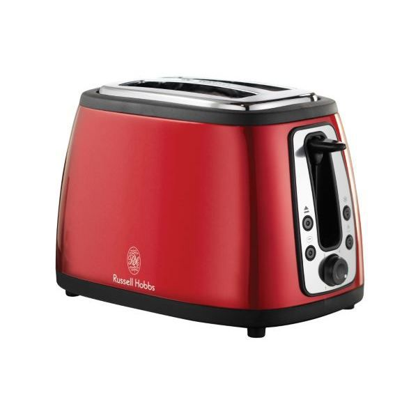 grille pain russell hobbs toaster retro rouge achat vente grille pain toaster cdiscount. Black Bedroom Furniture Sets. Home Design Ideas