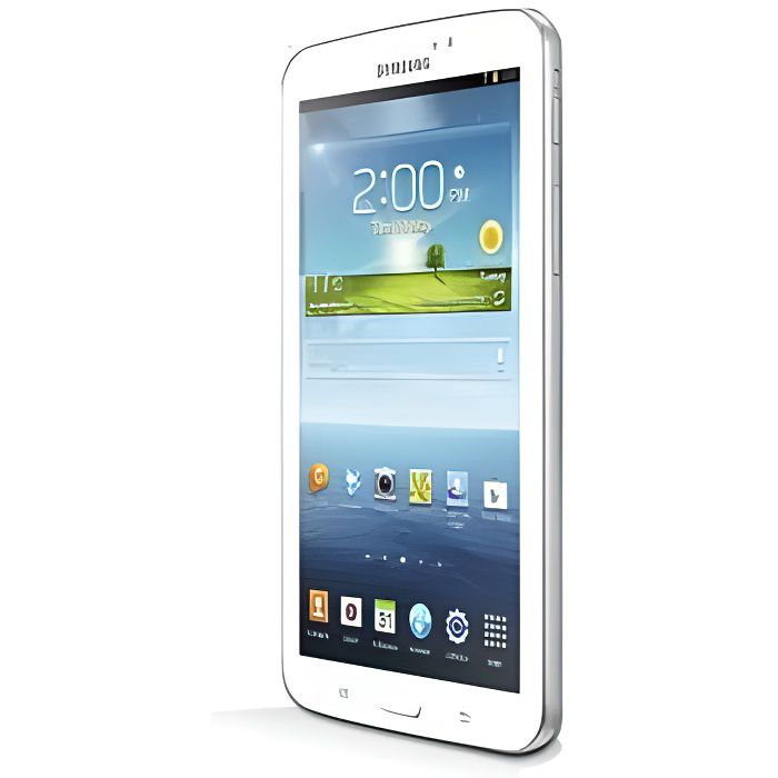 tablette samsung galaxy tab 3 sm t210 blanc prix pas cher cdiscount. Black Bedroom Furniture Sets. Home Design Ideas
