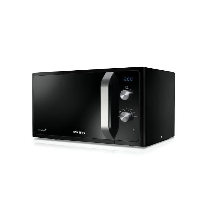samsung micro onde 23 litre 800 watt noir achat vente four cdiscount. Black Bedroom Furniture Sets. Home Design Ideas