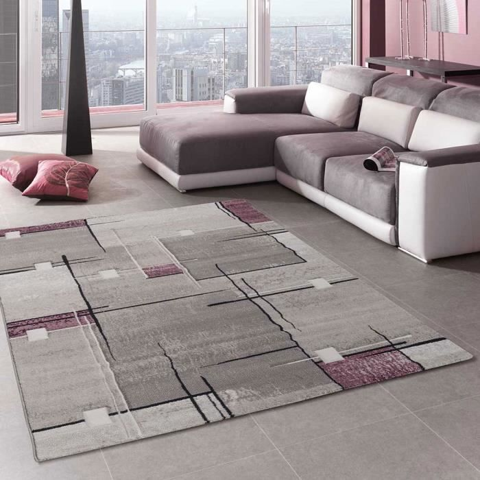 tapis 120x170 violet achat vente tapis 120x170 violet pas cher soldes d s le 10 janvier. Black Bedroom Furniture Sets. Home Design Ideas