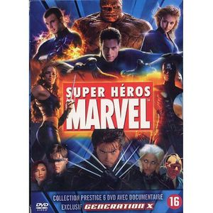 DVD FILM COFFRET 6 DVD SUPER HEROS MARVEL