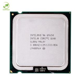 PROCESSEUR Intel Core 2 Quad Q9650 Processeur 3.0 ghz 12 mb C