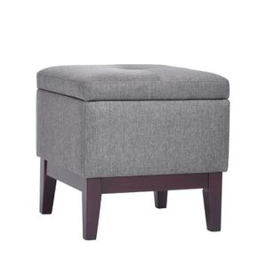 tabouret gris achat vente tabouret gris pas cher cdiscount. Black Bedroom Furniture Sets. Home Design Ideas