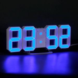 RÉVEIL SANS RADIO Réveil Horloge Numérique LED Horloge Murale Réveil
