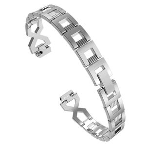 BRACELET MONTRE CONNEC. Remplacement Métal Cristal Bracelet Bracelet Pour