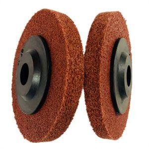 Homyl Meules /à polir Roue de polissage en fibre de nylon Disque de polissage Gris