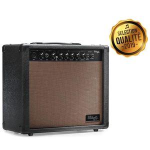AMPLIFICATEUR STAGG Amplis Guitare 20 AA R EU Acoustique Reverb