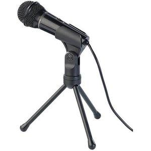 HAUT-PARLEUR - MICRO Microphone avec support pour PC et Mac