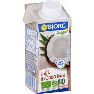CREME - BASE SAUCE  BJORG Lait de Coco Cuisine Bio 200ml X3