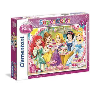 PUZZLE DISNEY PRINCESSES Puzzle 60 pièces Clementoni