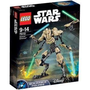 ASSEMBLAGE CONSTRUCTION LEGO® Star Wars 75112 Figurine Général Grievous™