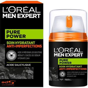 HYDRATANT VISAGE MEN EXPERT - Pure Power Soin Anti-imperfections -