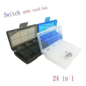 HOUSSE DE TRANSPORT 24-EN-1 Nintendo Switch Boîte à cartes Game, bleu