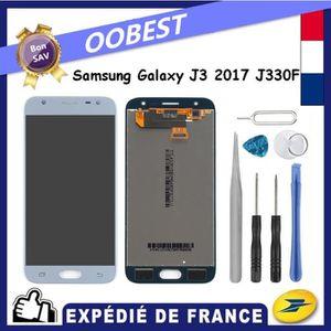 ECRAN DE TÉLÉPHONE Bleu Ecran Tactile Vitre Lcd + Outils Pour Samsung