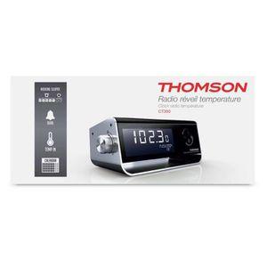 RADIO CD CASSETTE RADIO REVEIL AVEC TEMPERATURE INTERIEURE THOMSON