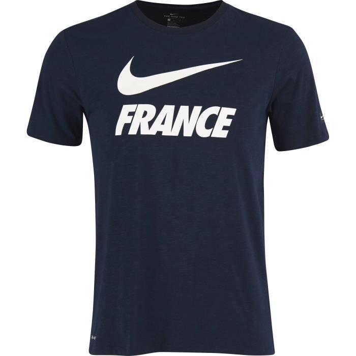 NIKE T-shirt de Football France FFF - Homme - Blanc