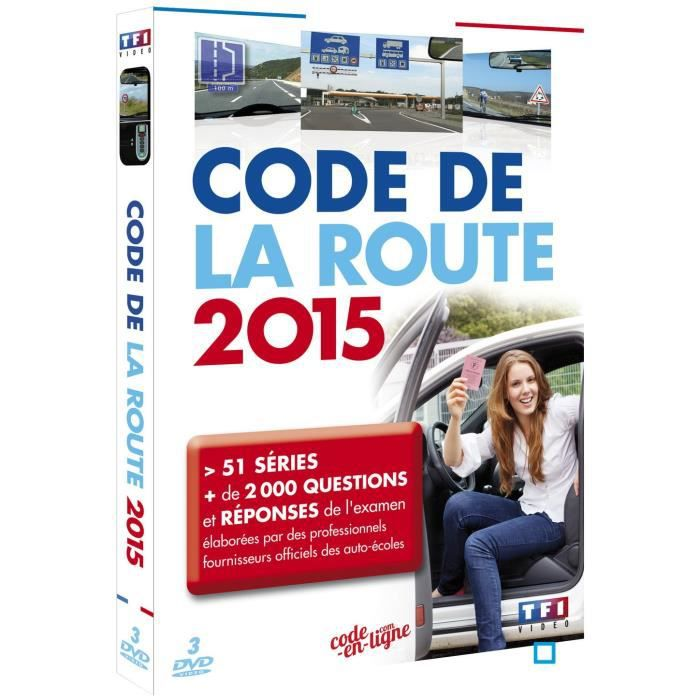 code de la route 2015 en dvd documentaire pas cher cdiscount. Black Bedroom Furniture Sets. Home Design Ideas