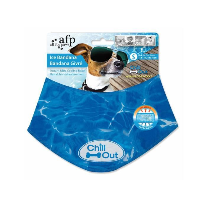 All For Paws PARE-CHIEN - GRILLE SEPARATION ANIMAUX Refroidissement bandana pour les chiens linge frais ICE BANDANA - Taille: 8011