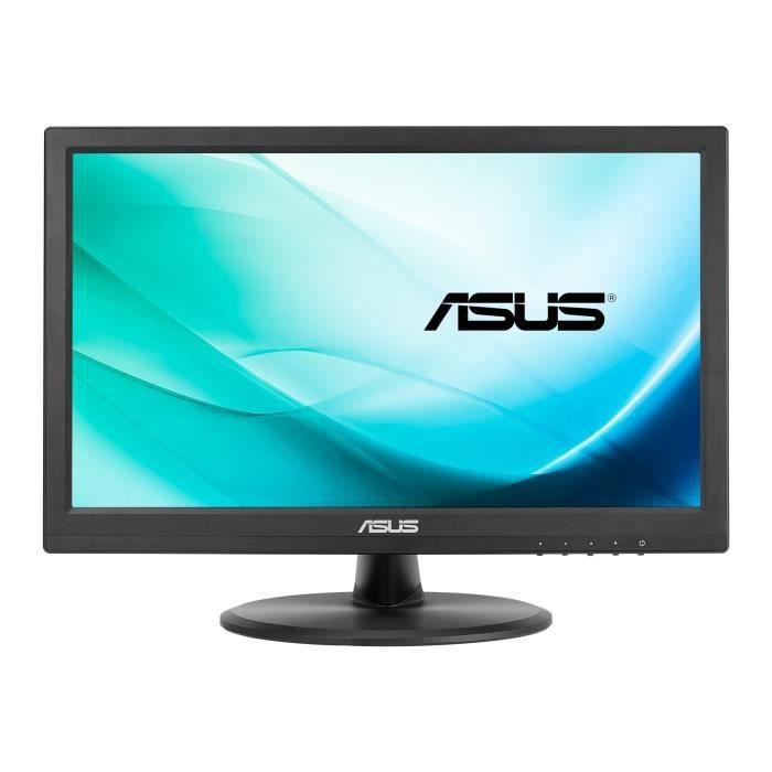 ASUS VT168H Écran LED 15.6- écran tactile 1366 x 768 200 cd-m² HDMI, DVI-D, VGA noir