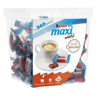 KINDER Kinder Maxi Mini Megabox env. 340 pcs