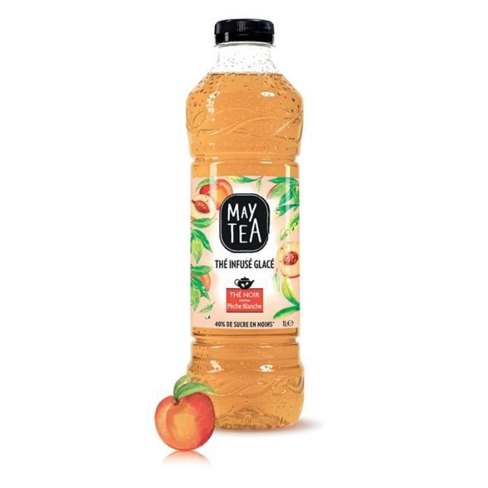 MAY TEA Thé infusé Pêche - 1 L