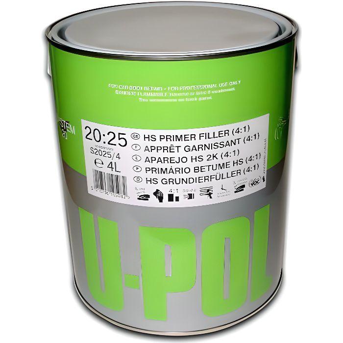 Apprêt garnissant gris 1 litre UPOL S2025/1