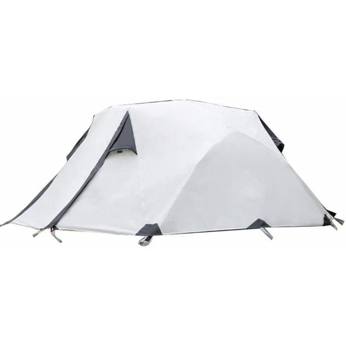 tente tente outdoor double ultra-léger enduit de silicium enduit de randonnée tente de camping en montagne 2 personnes couple