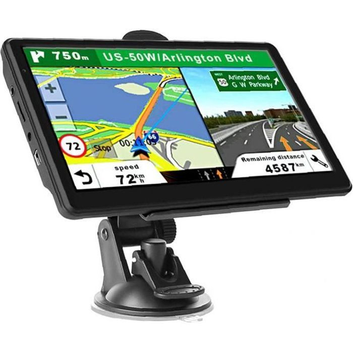 GPS Navigation Voiture Navigar 7inch HD Écran NAVS FM 8G 256M Navigation SystemTruck RV