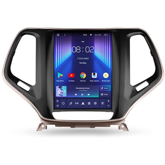 Autoradio Bluetooth Stéréo De Voiture Double Din 9.7'' 5G WiFi Voiture Info Plug and Play SWC Support Carautoplay-GPS-Dab+-OBDI 358