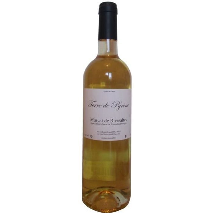 Muscat de Rivesaltes - Terre de Pyrène - Vin doux naturel - 75 cl