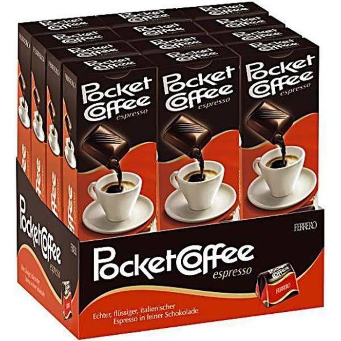 Ferrero Pocket Coffee Espresso 12 x 62g