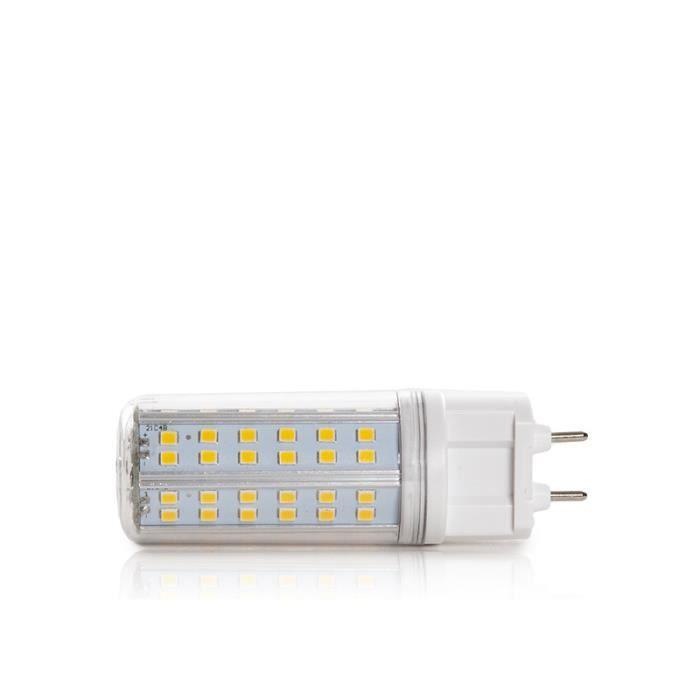 CH-G12-2835-10W-CW Ampoule À LED G12 SMD2835 10W 1050Lm 30.000H Au meilleur prix toujours. EnVois dans 24 heures! La plus grande
