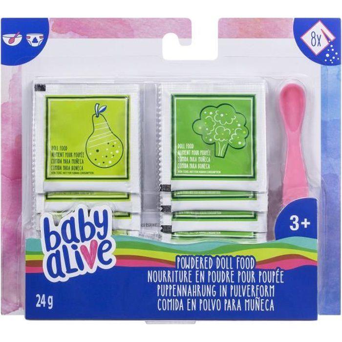 Baby Alive - Recharge de nourriture en poudre pour poupées et poupons