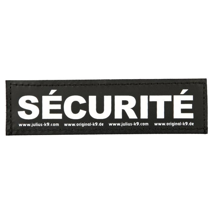 TRIXIE 2 Stickers Velcro Julius-K9 - S - Security - Pour chien