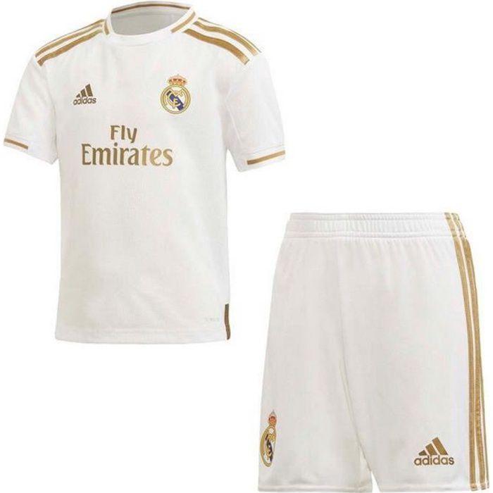 Mini-Kit Officiel Enfant Adidas Réal de Madrid Domicile Saison 2019-2020