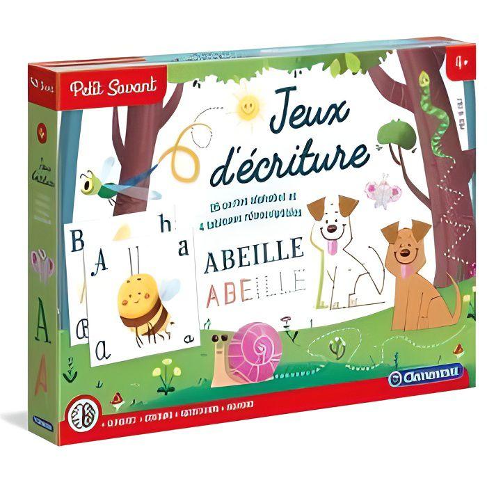 Jeux d ecriture 5-7 ans Nouvelle Version - Clementoni - Jeu educatif Petit Savant
