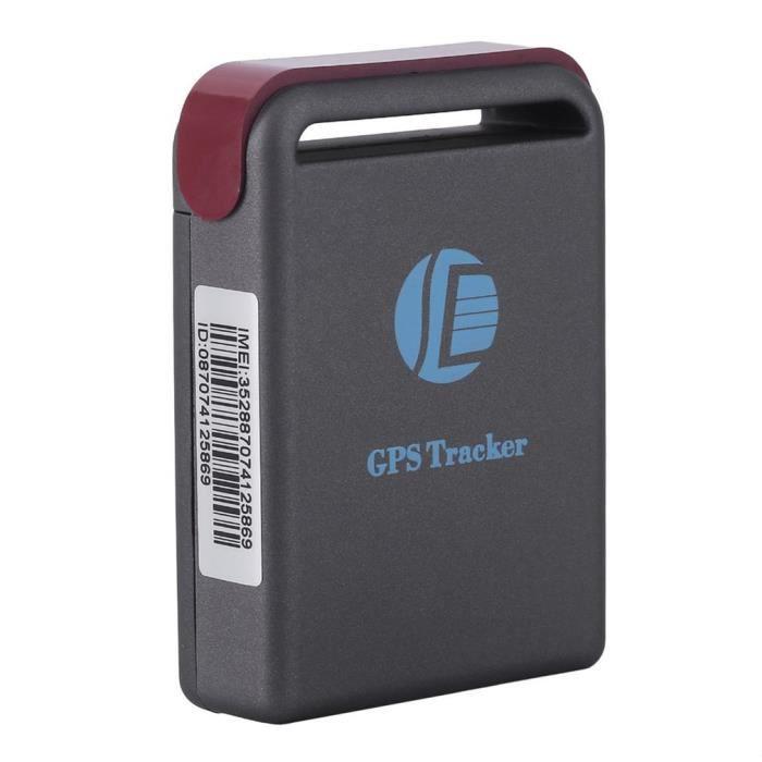 TK102B Tracker GPS précis avec alerte de vitesse - Dispositif de suivi en temps réel de voiture de localisateur d'émetteur