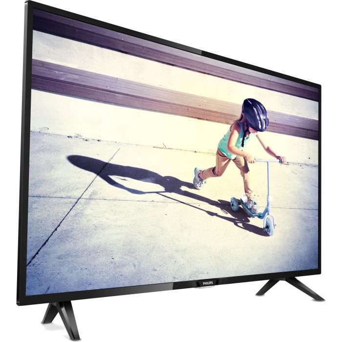 Philips 32pht4112 tv led hd 80 cm 32 design ultra plat 2 x hdmi classe énergétique a